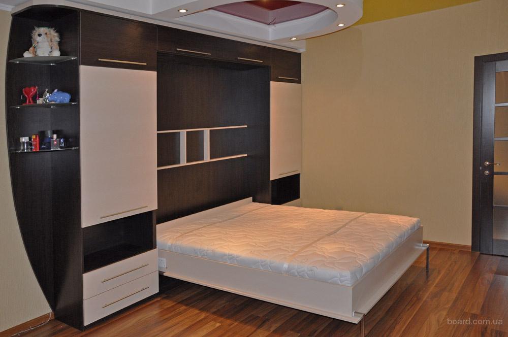 Шкафы трансформеры с кроватью